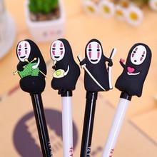 Korean stationery cute gel anime neutral pen creative cartoon faceless man Writing Supplies school tools wholesale