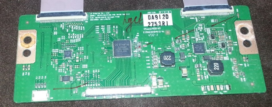 все цены на 6870C-0401C Logic Board 32/37/42/47/55 FHD TM12 Good Working Tested онлайн