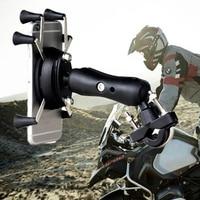 Fortalecer moto rcycle suporte do telefone móvel suporte para iphone7 6 6 splus gps bicicleta suporte do telefone com soporte movil moto