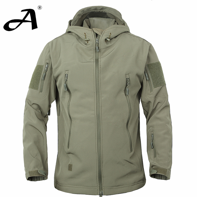 Windbreaker Camouflage Mens Military Style Jacket