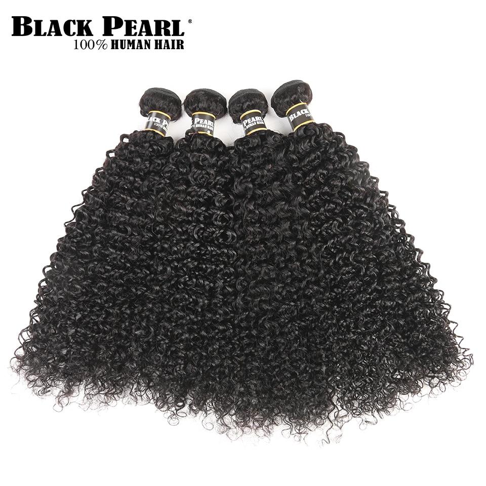 Black Pearl Pre-Colored Peruvian Hair Weave Bundles Mänskligt Hår 4 - Skönhet och hälsa - Foto 3