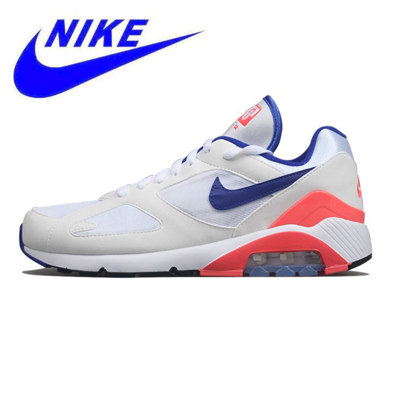 newest fff90 1890e Detail Feedback Questions about Nike Air Max 180 OG Men s and Women s  Running Shoes, Breathable Lightweight Wear resistant Shock Absorption, White  615287 ...