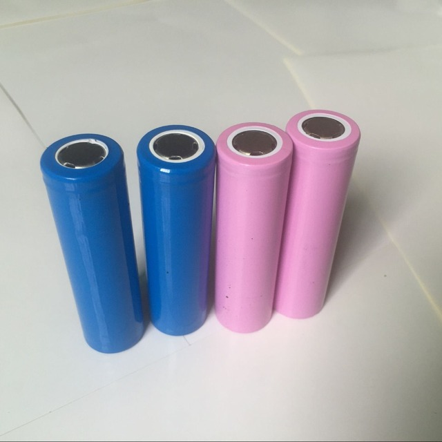 4PCS Real Full 2600MAH Capacity rechargeable 18650 Battery 3.7v rechargable Li-ion Battery 18650 Battery Free Shipping