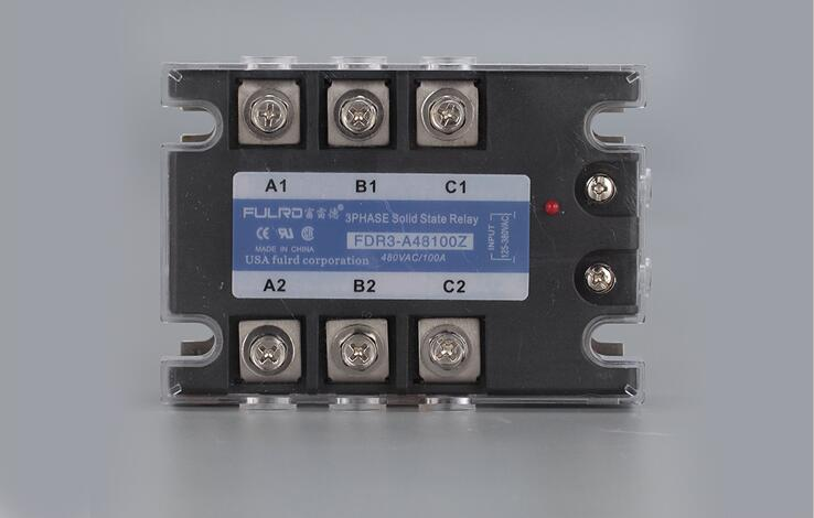 Three-phase solid state relay AC-AC AC125-380V Control AC24-480V 50A 80A 100A 120A JGX-3 mager three phase solid state relay dc control ac mrssr 3 mgr 3 032 3880z 80a