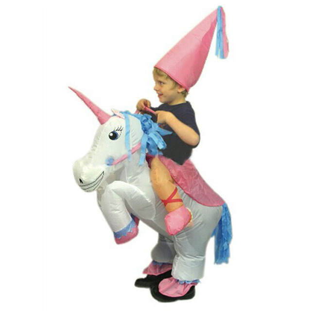 halloween costume for kids children unicorn inflatable costume funny carnival costumes christmas party costume for kids - Childrens Funny Halloween Costumes