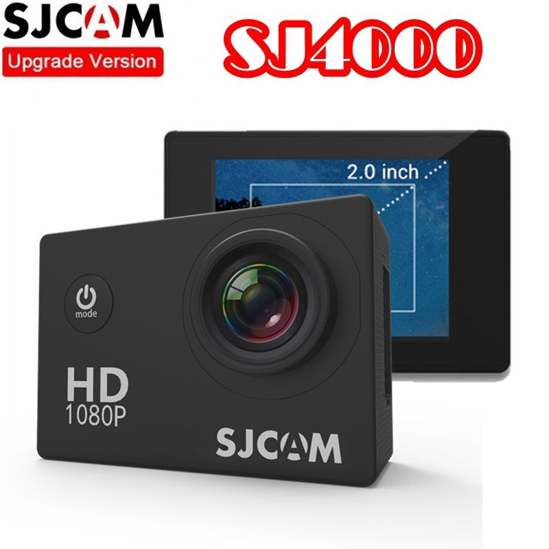 SJ4000 SJCAM Novatek 96650 1080 P 30fps full HD Casco de Bicicleta DV Deportes A