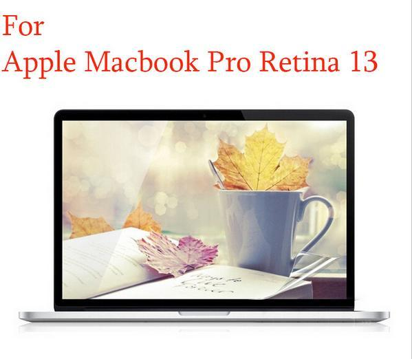 A1278 Crystal Clear Screen Protector Guard Film Cover Skin for Macbook Pro 13