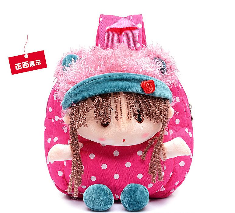 Cute Baby School Bag Bags For Girls Cartoon Backpack Kids Book Mochila Escolar 4 Colors In From Luggage On Aliexpress