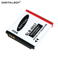 Digital Boy High Quality 1pcs Battery SLB-0937 SLB 0937 SLB0937 Rechargeable Camera Battery For Samsung L730 L830 i8 NV33 NV4