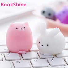 5 Style Kawaii Mini Bears Ball Bunny Rabbit Squishy Squeeze Slow Rising Charms Small Squishies Stress Reliever Toy Gift (11-16#)(China)