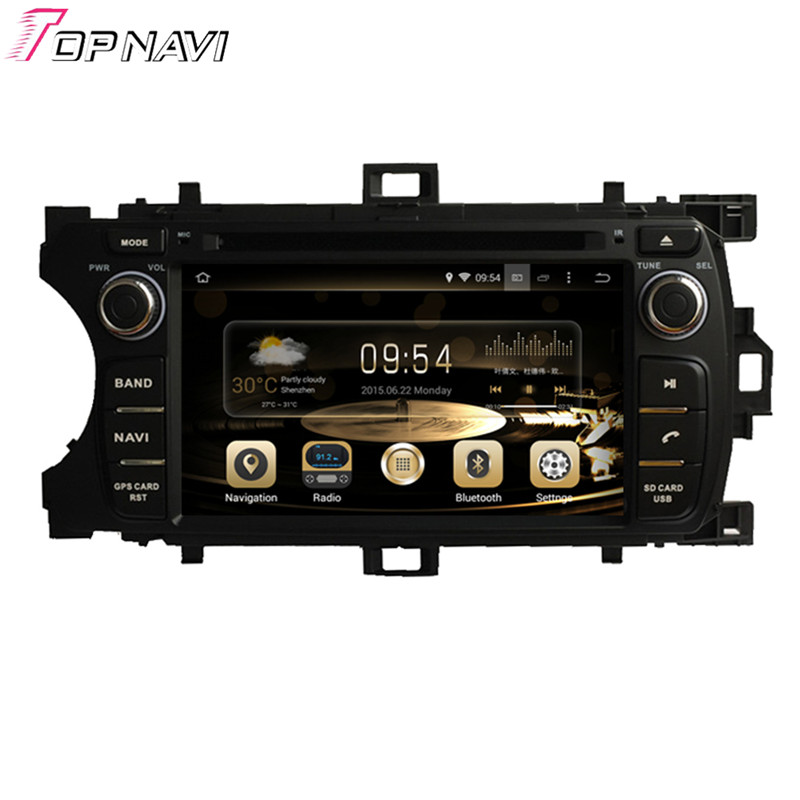"6.2"" Quad Core Android 5.1 Car Radio For TOYOTA YARIS 2011- With DVD Stereo Multimedia 16Gb Flash Mirror Link Brand New"