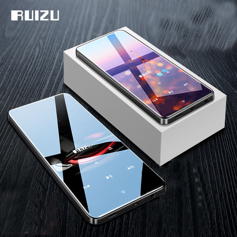 Original New Bluetooth MP3 Player Lossless HiFi MP3 Music Player Portable Audio 8GB With Speaker FM Radio E-book Clock