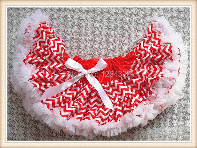 Chirstmas new arrival girls tutu skirts chiffon fluffy pettiskirts kids skirts KP-PETS134