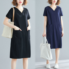 Spring Summer Big Size Streetwear Cotton t shirt party t shirt Dress Knee-Length Loose sexy women casual dress XL 2XL 3XL 4XL fashion spring summer short sleeve dress big size s 2xl women casual beach party slim dress cool t shirt casual dress