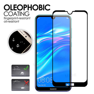 Image 3 - 2PCS Tempered Glass For Huawei Y7 2019 Case Glas On For Huawei Y7 Prime 2019 DUB LX1 DUB LX2 DUB LX3 y72019 7y pro Safety Glass