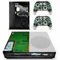 Machine Vinyl Decal For Microsoft Xbox One Slim Console Skin Sticker 2pcs Controller Sticker for Xbox One