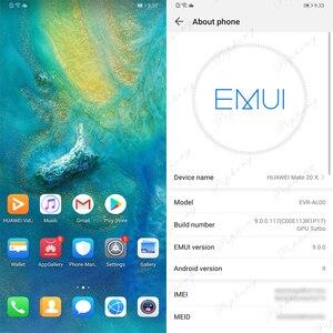 Image 3 - 7.2 pollici a Schermo Intero Huawei Compagno di 20 X Compagno di 20X Mobile Del Telefono Andorid 9.0 Kirin 980 Octa Core 40.0MP NFC IP53 Caricatore Rapido