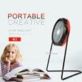 Novelty conduziu a lâmpada de mesa candeeiro de mesa de luz solar ao ar livre para acampamento com Manivela 360 Graus Caminhadas Pesca Escalada Esportes luz
