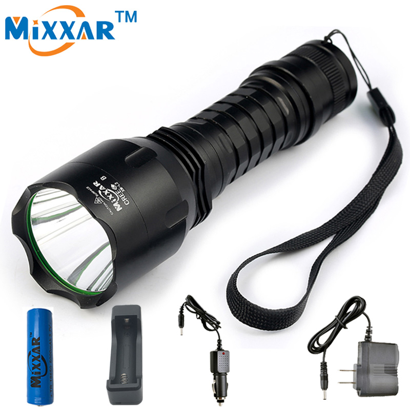 ZK20 Mixxar Waterproof C8 XM-L2 LED Cold Natural White Light Flashlights 18650 Battery Lantern Tactical Flashlight Lamp Torch readiness to provide holistic health care in primary health care