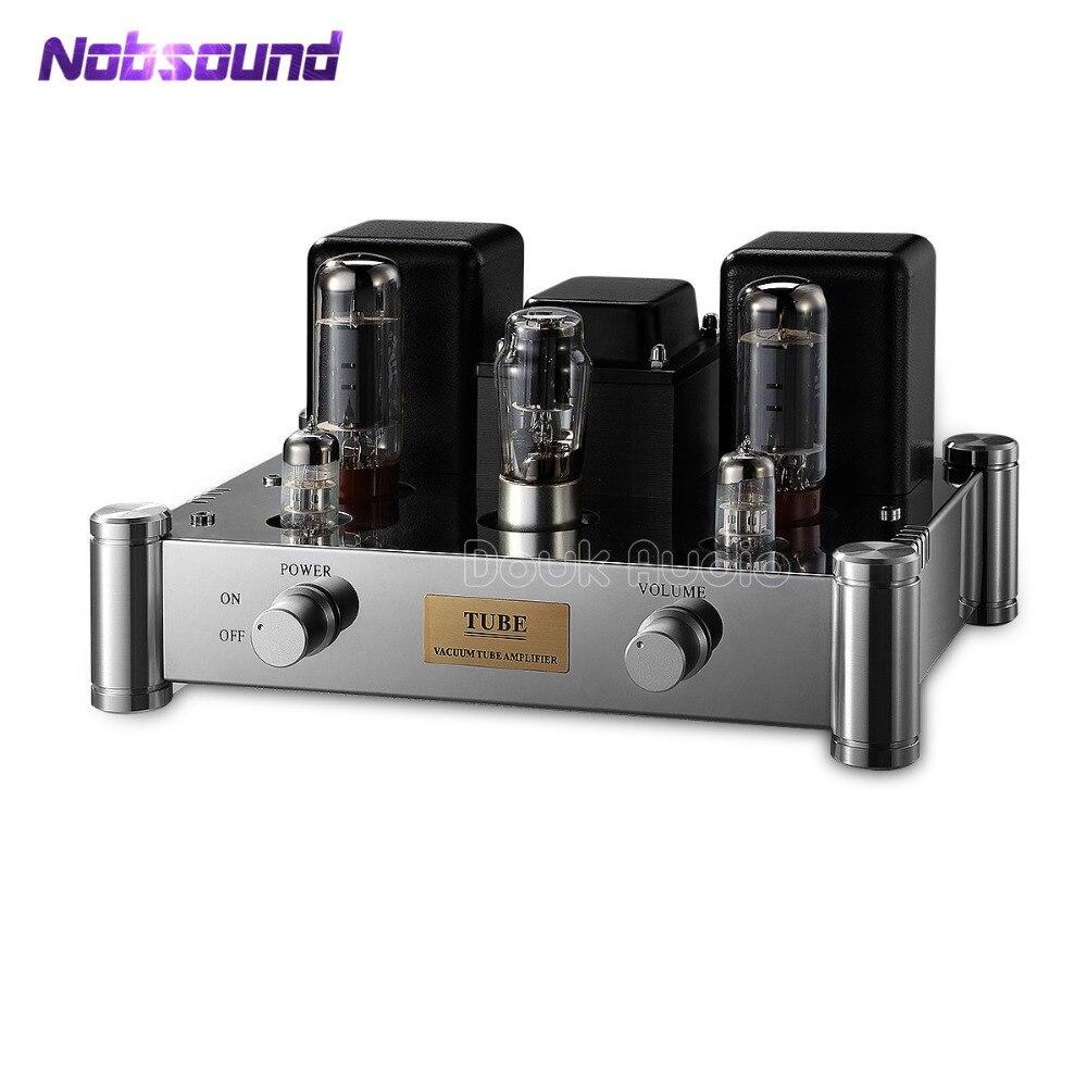 Nobsound Boyuu A10 EL34-B Single-ended Tube Amplifier 5Z4P Rectifier Hifi Stereo Audio 12W*2 Manual welding scaffolding цена