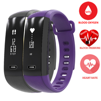 Smart Band ZB49 Bracelet Blood Oxygen Oximeter Heart Rate Sleep Monitor Sport Wristwatch Fitness Health Tracker