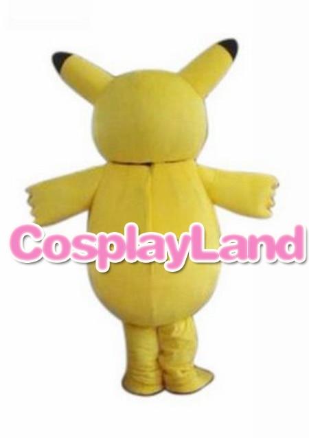 Costume mascotte adulte Costume mascotte Pokemon Costume mascotte Pikachu Costume mascotte Pokemon Pikachu carnaval fantaisie pour l'école - 3