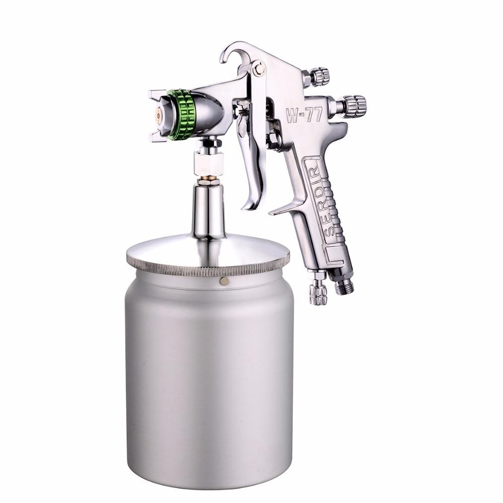 Siphon W 77 spray gun 2 0 2 5 3 0mm manual sprayer car painting furniture