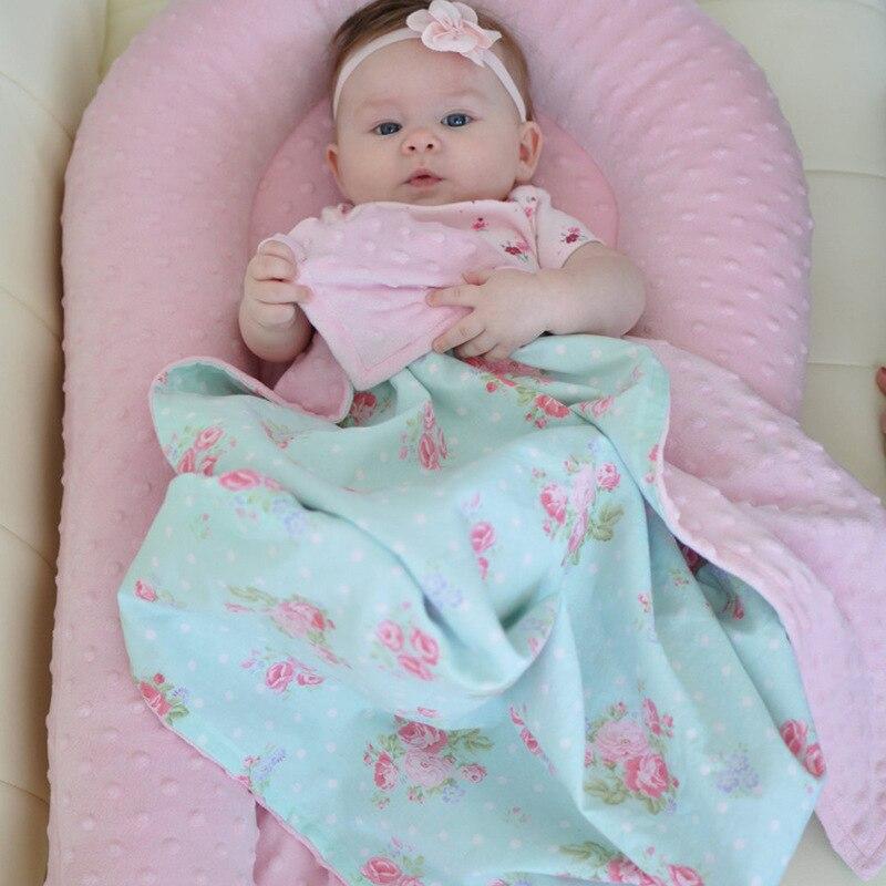 Lit de nid de bébé berceau Portable amovible et lavable lit de voyage pour enfants berceau en coton pour enfants - 2