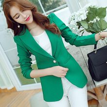 Casual Women Candy Colors Blazers and Jackets