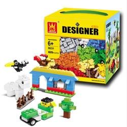 625 pçs wange 58231 diy tijolos criativos brinquedos blocos de construção tijolos em massa criança brinquedos educativos compatíveis com lego tijolos