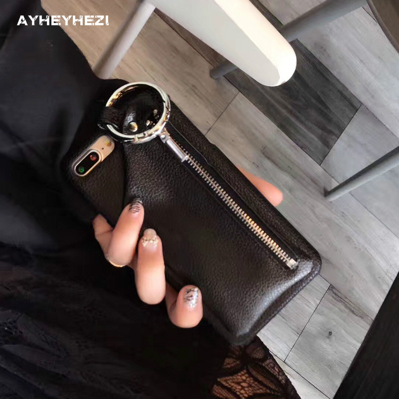 20PCS Wholesale Leather Wallet Phone Case with Compartment Handbag Holder Case Cover Holster for iPhone XS