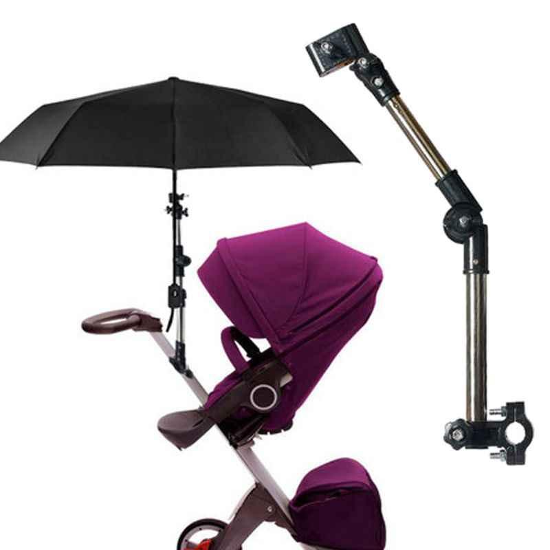 Регулируемая подставка для крепления детских колясок аксессуары для детских колясок зонт для детской коляски держатель Multiused инвалидная коляска держатель для зонта зонтик подставка