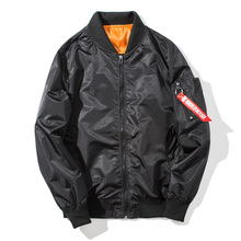 Plus Size US Air Force Pilot Ma1 Bomber Flight Jacket Men Casual bomber jacket mens Waterproof Women Jackets and Coat Homme J017 недорого