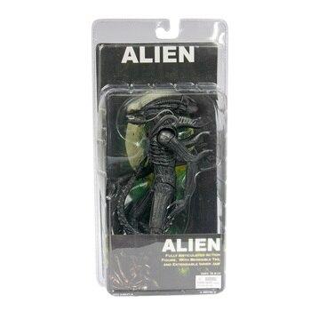 Livraison gratuite NECA officiel 1979 film classique Original Alien PVC figurine à collectionner jouet poupée 7