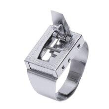 Шарнирное кольцо, артефакт для самозащиты, антивольф, кольцо для защиты тела, невидимый пояс, нож, Уличное оборудование, подарок для девушки J