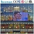 Leeman стены стекло из светодиодов дисплей новый образ стены стекло из светодиодов экран p5 крытый гамма прозрачным из светодиодов дисплей