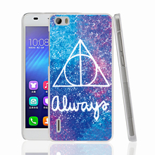 14677 Harry Potter Deathly Hallows Cover phone Case for sony xperia z2 z3 z4 z5 mini plus aqua M4 M5 E4 E5 C4 C5