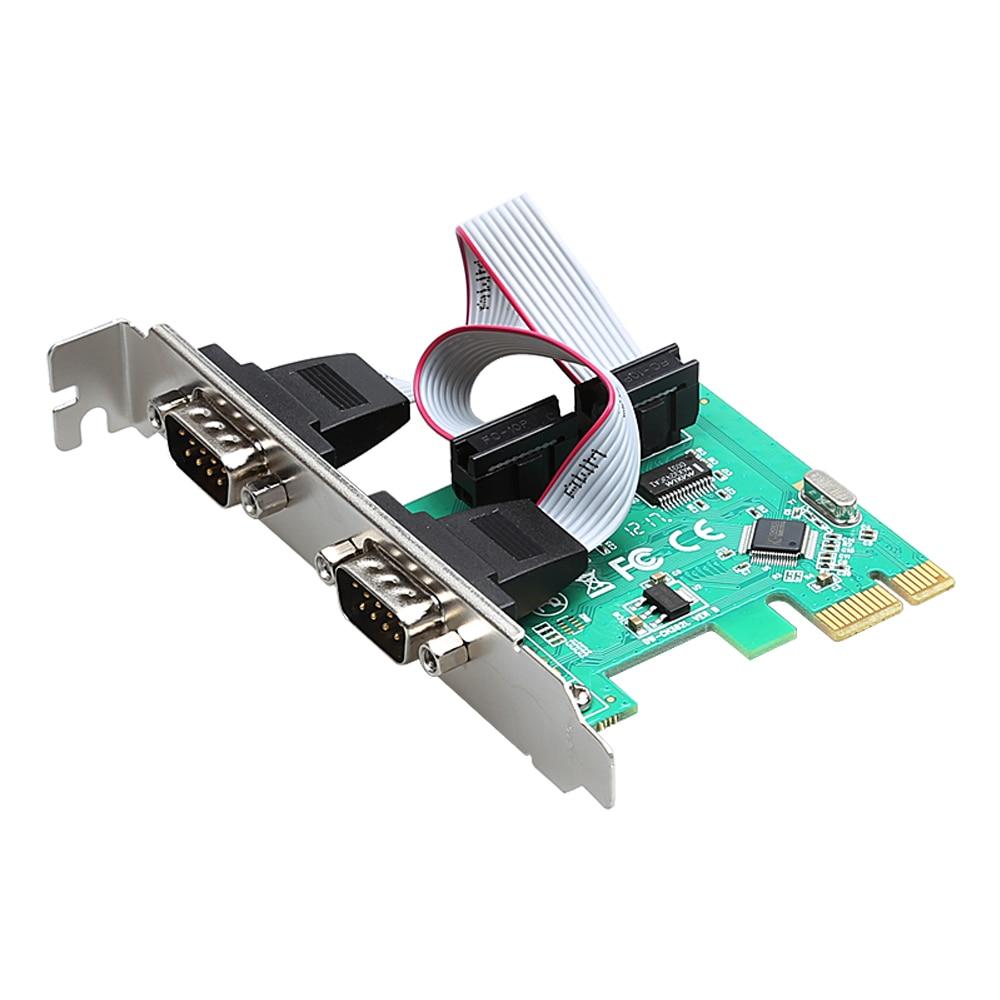 Plug And Play Pci E To Dual Serial Db9 Rs232 Express Pinout Diagram Aliexpresscom Buy 15cm Usb Male Diewu 2 Port Rs 232 Com