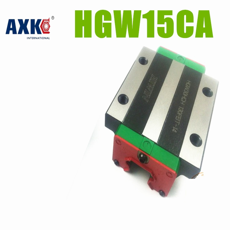 AXK NEW ORIGINAL HIWIN HGW15CA ( HGW15CC ) HIWIN Linear guide block cnc router parts HGW15