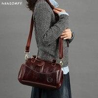 Новые женские сумки из натуральной кожи в стиле ретро, 2019 кожный слой головы, женская сумка через плечо, сумки через плечо