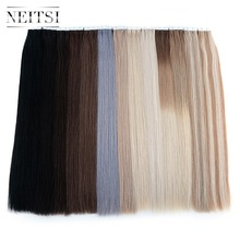 "Neitsi Remy Tape I Menneskehår Udvidelser Double Drawn Adhesive Hair Skin Weft 16 ""20"" 24 ""20PCS 40PCS FedEx Gratis Levering"