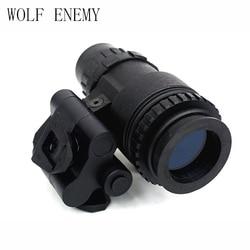 Taktyczny manekin PVS 18 NVG gogle noktowizyjne czarny|night vision goggle dummy|dummy night visionnight vision dummy -