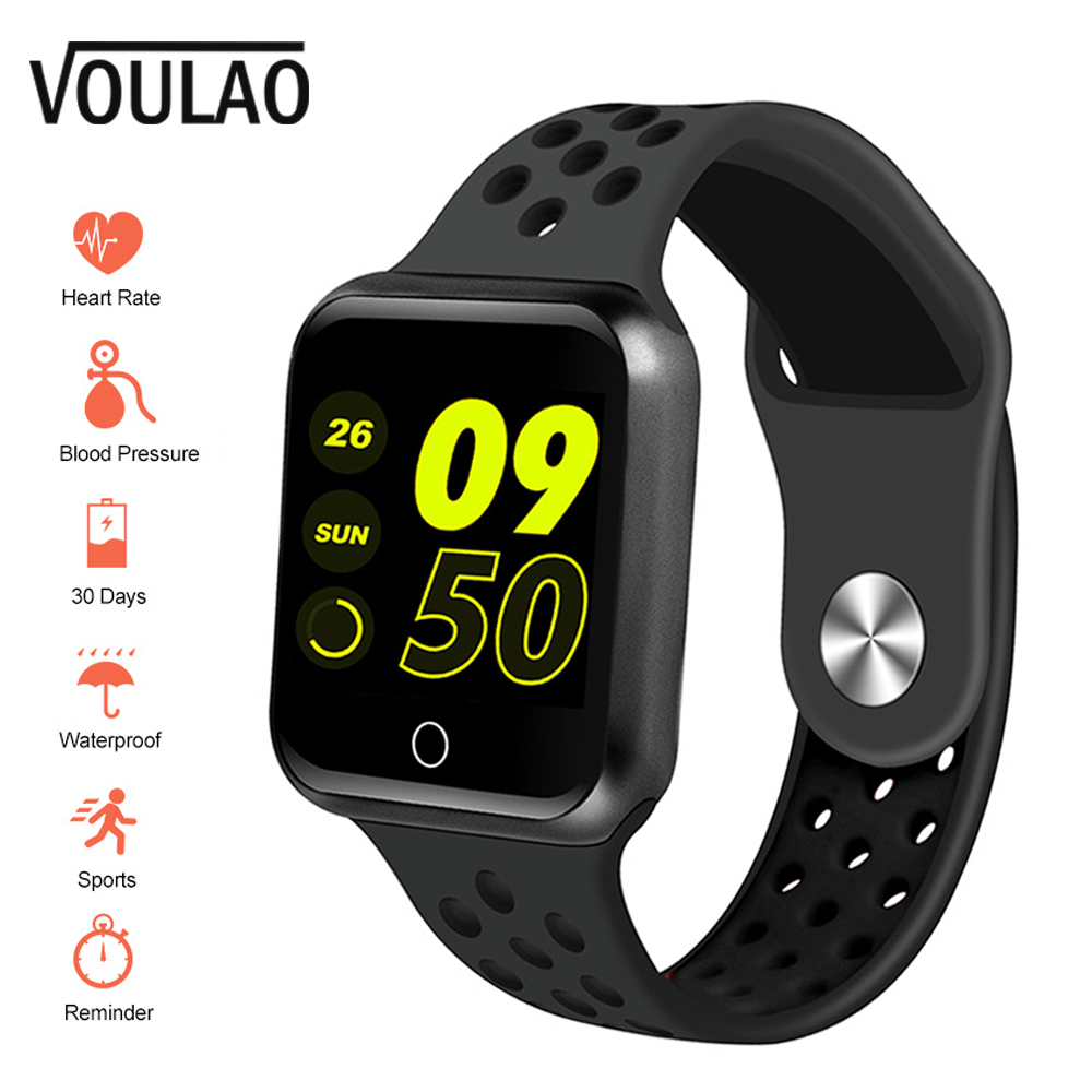 VOULAO S226 Smart Watch Men Bluetooth Smartwatch Heart Rate Blood Pressure Sport Smart Watches Fitness Tracker For IOS Android(China)