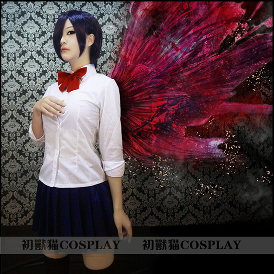 Tokyo Ghoul Kirishima Touka Tuka Anime Cosplay Halloween Full Set 3
