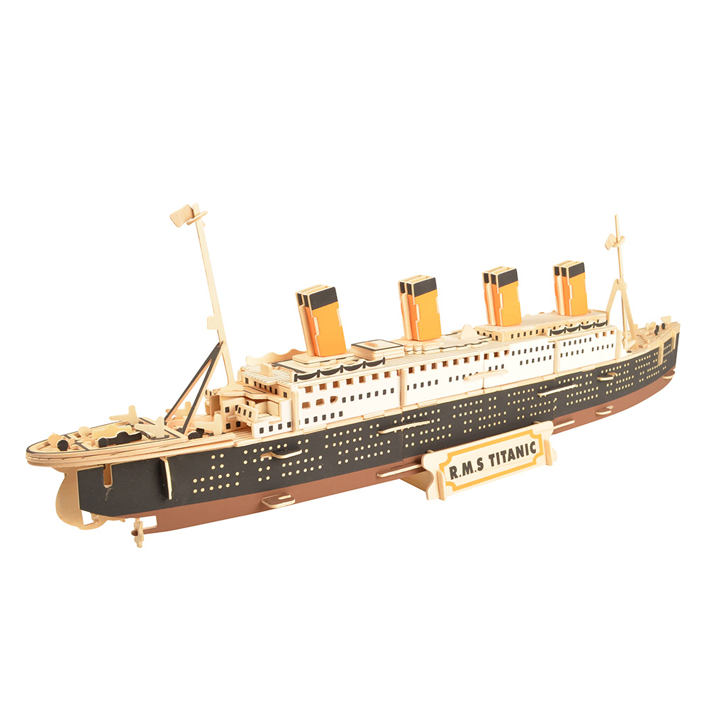Titanic Ship 3D Building Puzzles Toys, 72CM /28.5 Inches