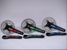 Genuine FUNN Britain's top 10 speed TEN lightweight hollow one crankset 30 speed transmission kit tooth plate
