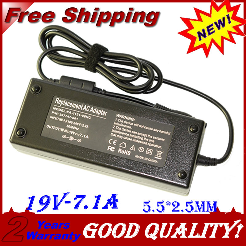 19V 7.1A 5.5*2.5MM 135W Replacement Universal Notebook For Acer Laptop AC Charger Power Adapter High quality free shipping
