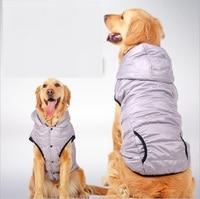 NUOVO Grande Grandi Cani Vestiti Grigio Morbido Pet Giacca di Maglia Dog Hoodie Chow Chow Golden Retriever 3XL 4XL 5XL 6XL 7XL