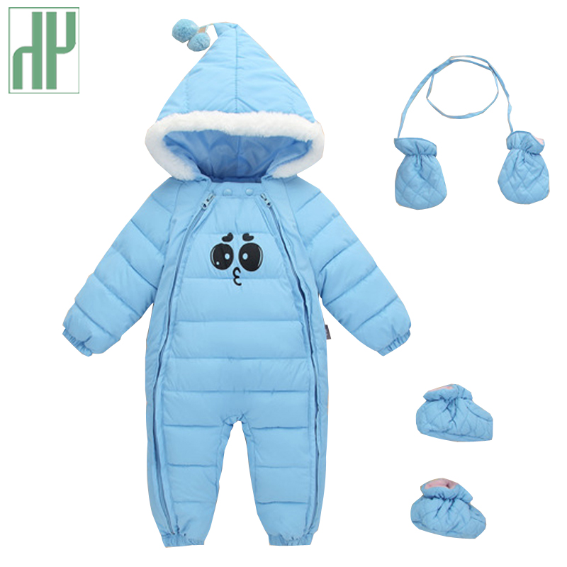 Baby winter clothes Baby Girls Boys Clothes Hooded Cotton-padded Jumpsuits infant clothing One Piece newborn romper snowsuit mother nest 3sets lot wholesale autumn toddle girl long sleeve baby clothing one piece boys baby pajamas infant clothes rompers