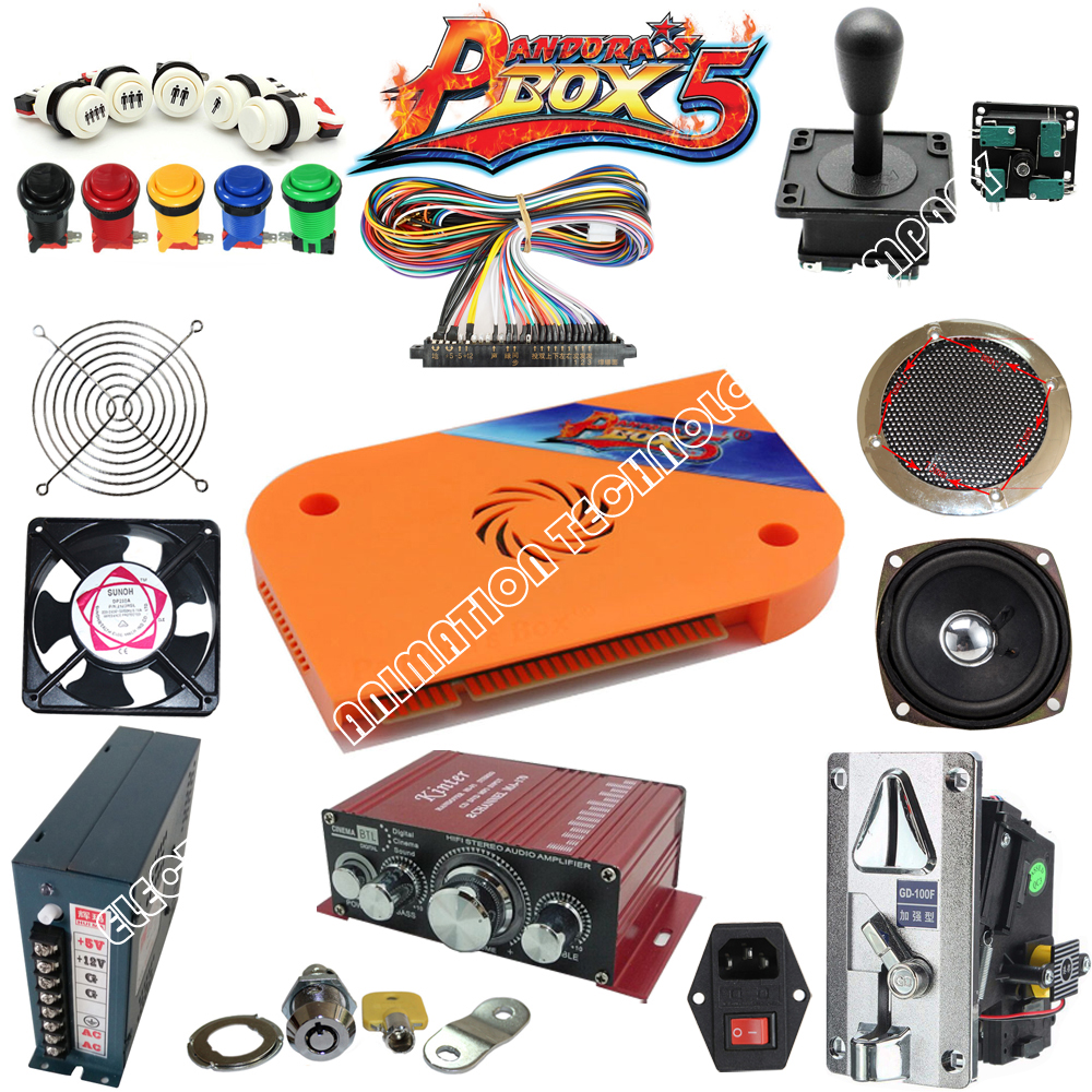 Jamma Arcade game kit pandora box 4S /815 in 1 arcade kit /spare parts to built Bar-top arcade machine or upright arcade machine ручка роллер parker im metal t221 black ct чернила черные корпус черный s0856350